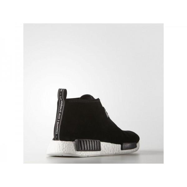 Originalsschuhe Adidas 'NMD_C1' Schwarz/Weiß Kreide Schuhe für Herren