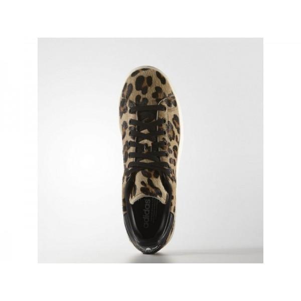 Adidas Herren Stan Smith Originals Schuhe - Black/Chalk White Adidas S75116