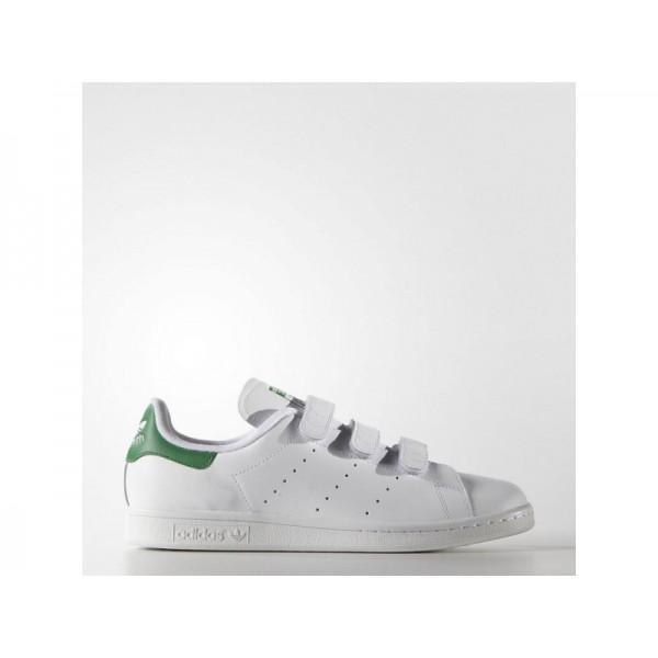 Adidas Stan Smith für Herren Originals Schuhe Verkaufen - White/Green Adidas S75187