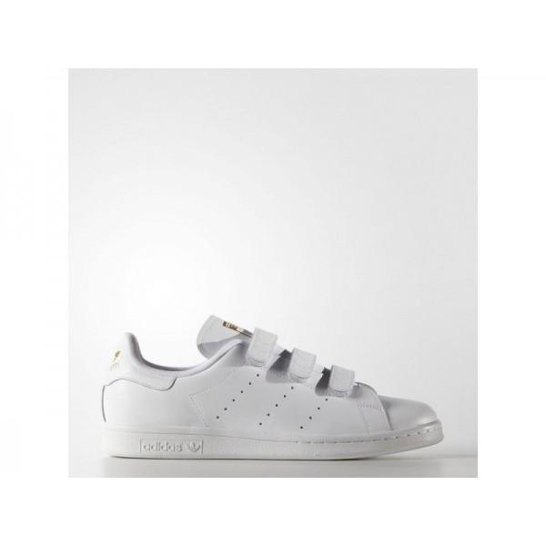 Adidas Stan Smith für Herren Originals Schuhe Verkaufen - White/Gold Metallic Adidas S75188