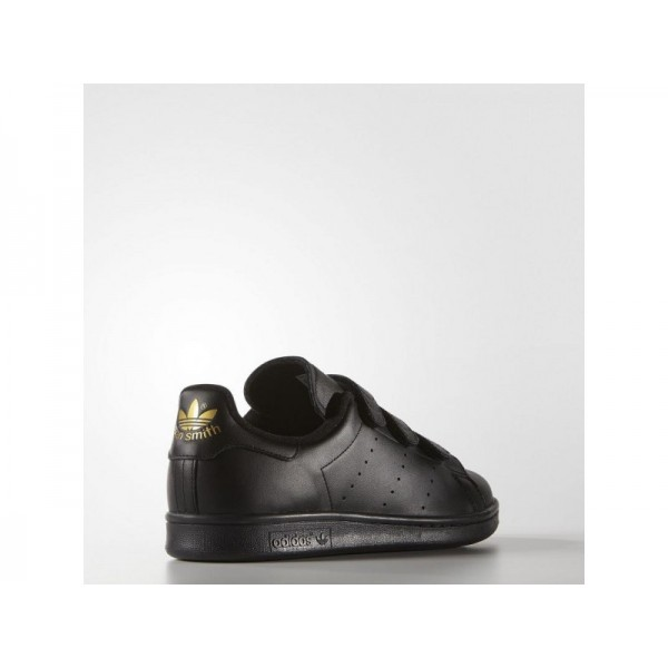 Adidas Herren Stan Smith Originals Schuhe - Black/Gold Metallic Adidas S75189