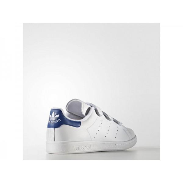 Adidas Herren Stan Smith Originals Schuhe Online - Ftwr White/Ftwr White/Collegiate Royal