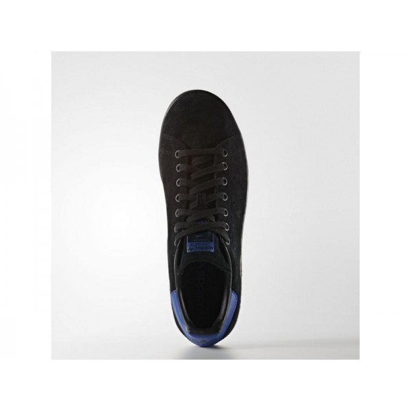 Adidas Herren Stan Smith Originals Schuhe - Black/Black/Collegiate Royal