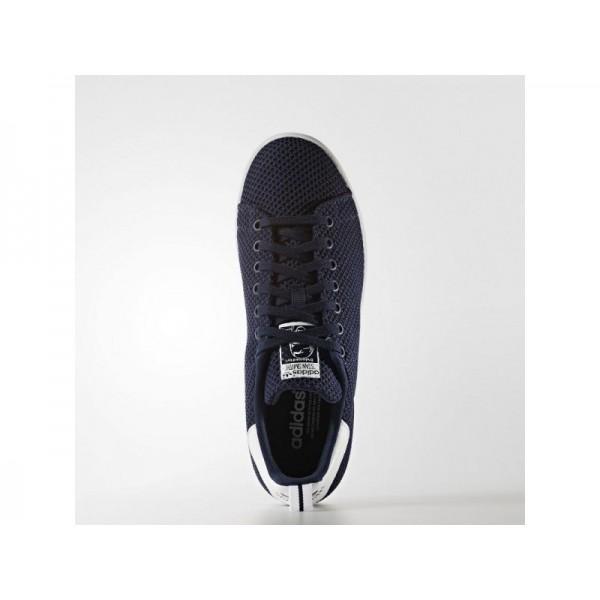 Adidas Herren Stan Smith Originals Schuhe günstig - Collegiate Navy/Collegiate Navy/Ftwr White