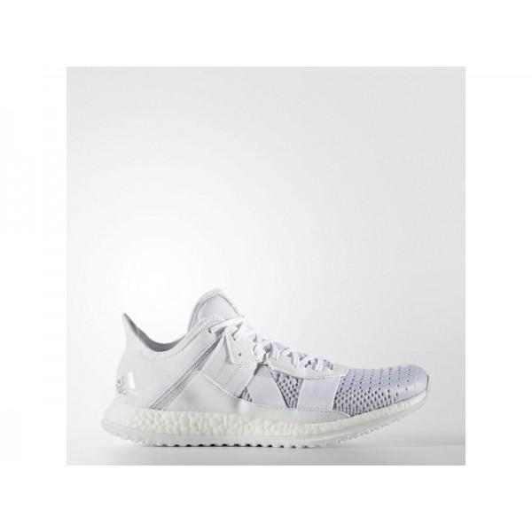 Adidas Herren Pure Boost Training Schuhe Online - Ftwr White/Silver Met./Black