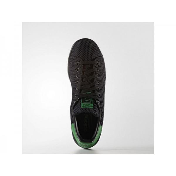 Adidas Herren Stan Smith Originals Schuhe - Black/Black/Green