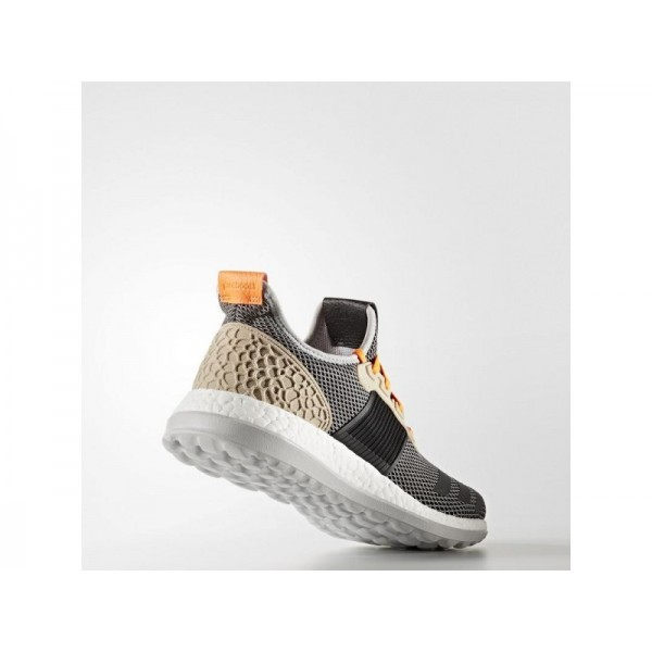 Adidas Herren Pure Boost Running Schuhe - Grey/Black/Grey S12