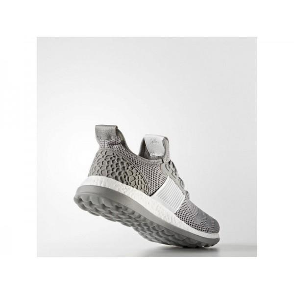 Adidas Herren Pure Boost Running Schuhe - Ch Solid Grey/Silver Met./Ch Solid Grey