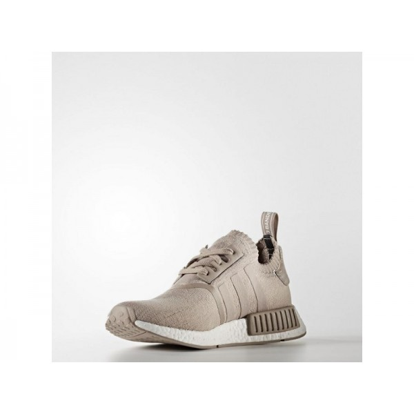 Adidas Herren NMD R1 Originals Schuhe - Vapour Grey F16/Vapour Grey F16/Ftwr White