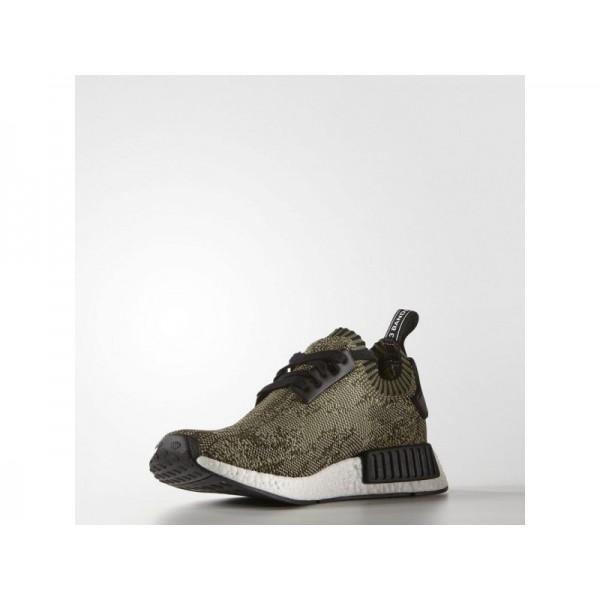 Adidas NMD R1 für Herren Originals Schuhe - Olive Cargo/Black/White