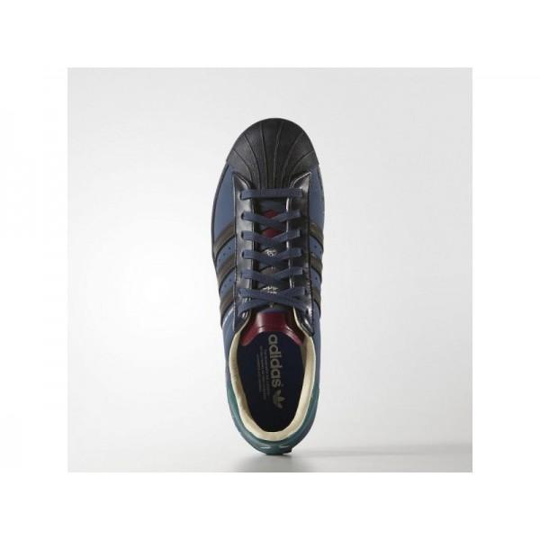 adidas Originals SUPERSTAR 80S RIPPLE Herren Schuhe - Nacht Marine/Nacht Navy/Collegiate Burgund