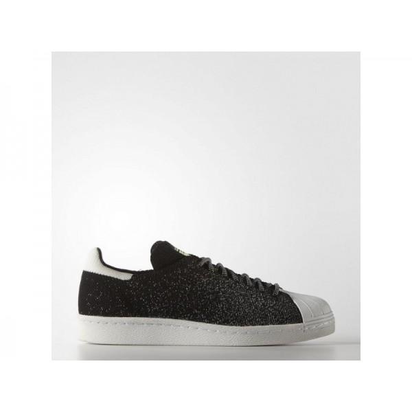 Originalsschuhe Adidas 'Superstar 80s Primeknit ASG' Schwarz/Weiss/Crystal White Schuhe für Herren