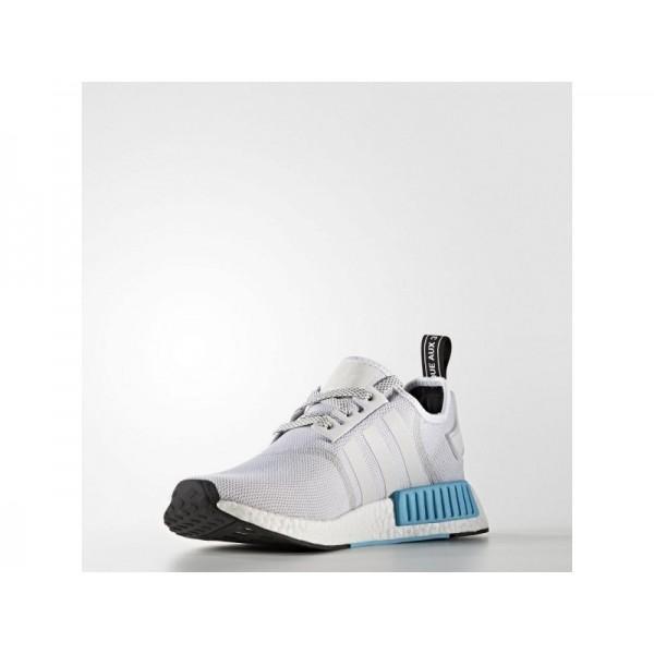 adidas Originals NMD R1 Herren Schuhe - Weiß/Hell Cyan