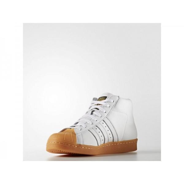 adidas Originals PRO MODEL 80S DLX Herren Schuhe - Weiß/Schwarz