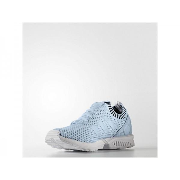 adidas Originals ZX FLUX PRIMEKNIT Herren Schuhe - Ice Blue F16/F16-Eis-Blau/Schwarz