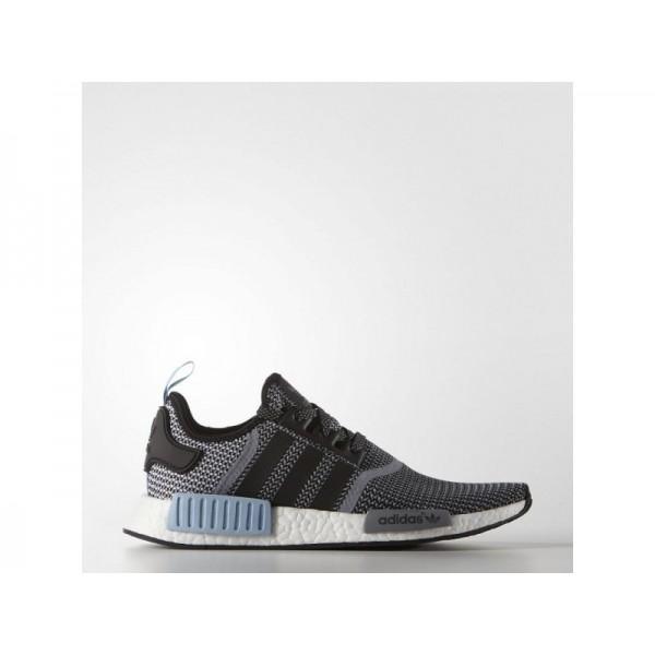Adidas NMD R1 für Herren Originals Schuhe - Black/Blue S79159