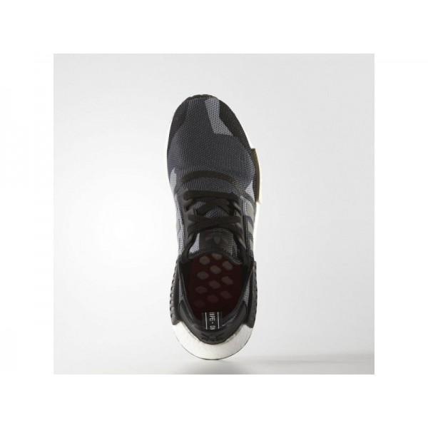 Adidas NMD R1 für Herren Originals Schuhe - Black/Chalk White S79163