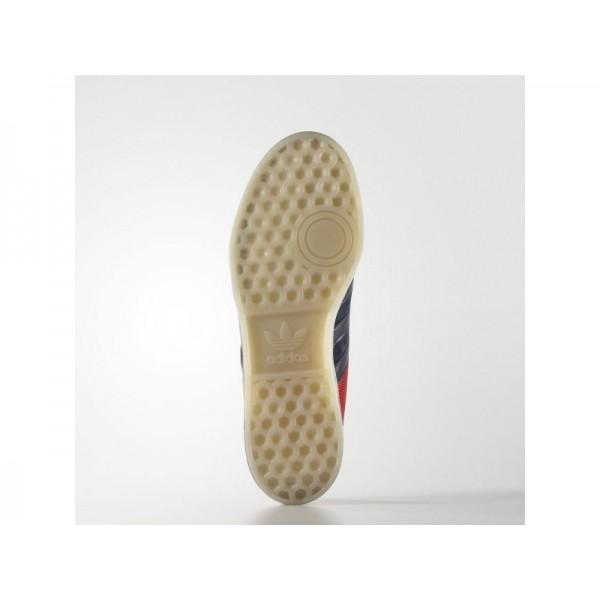 Adidas Herren Hamburg Originals Schuhe günstig - Collegiate Navy/Chalk White