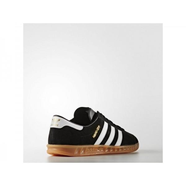 Adidas Hamburg für Herren Originals Schuhe - Black/Ftwr White/Gum 2