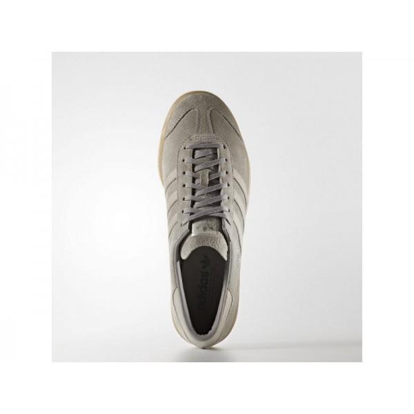 Adidas Herren Hamburg Originals Schuhe - Granite/Grey S12/Gum4