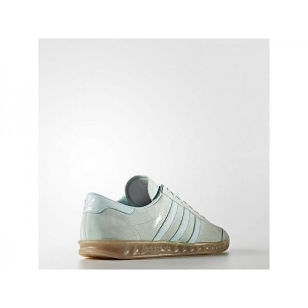Adidas Hamburg für Herren Originals Schuhe - Vapour Green F16/Ice Mint F16/Gum4