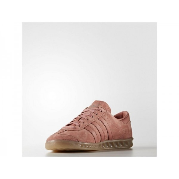 Adidas Hamburg für Herren Originals Schuhe - Raw Pink F15/Raw Pink F15/Gum4