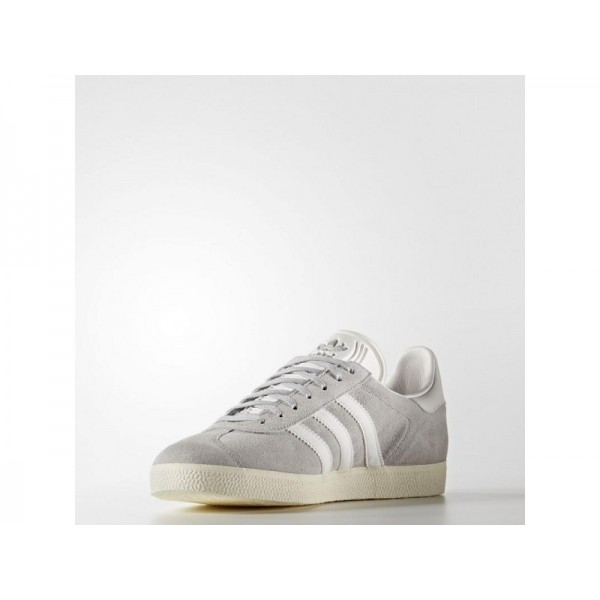 Adidas Herren Gazelle Originals Schuhe - Onix/White/Gold Met. Adidas S76221