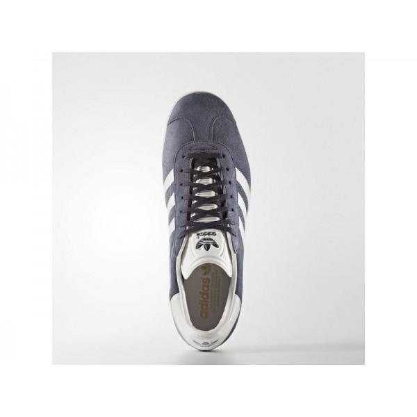 Adidas Herren Gazelle Originals Schuhe - Nemesis/Vintage White S15-St/Gold Met.