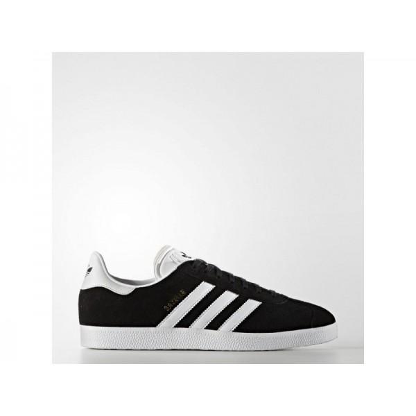 Adidas Herren Gazelle Originals Schuhe - Black/White/Gold Met. Adidas BB5476