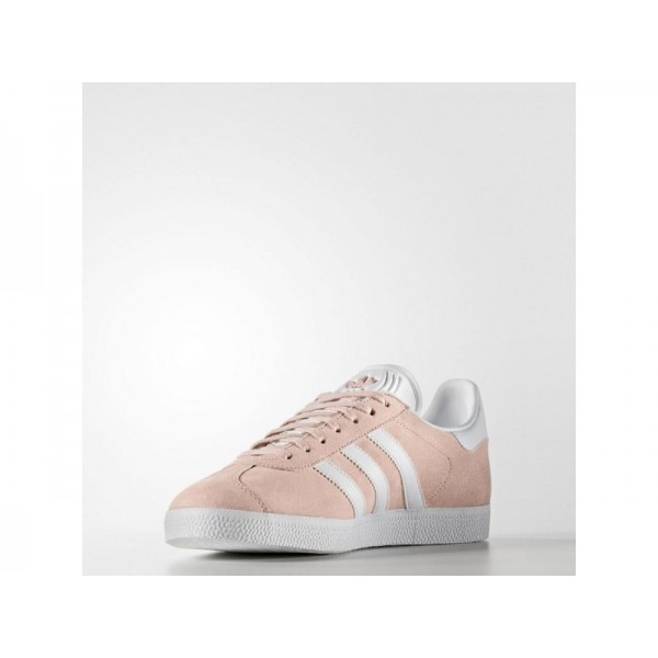 Adidas Herren Gazelle Originals Schuhe - Vapour Pink F16/White/Gold Met.
