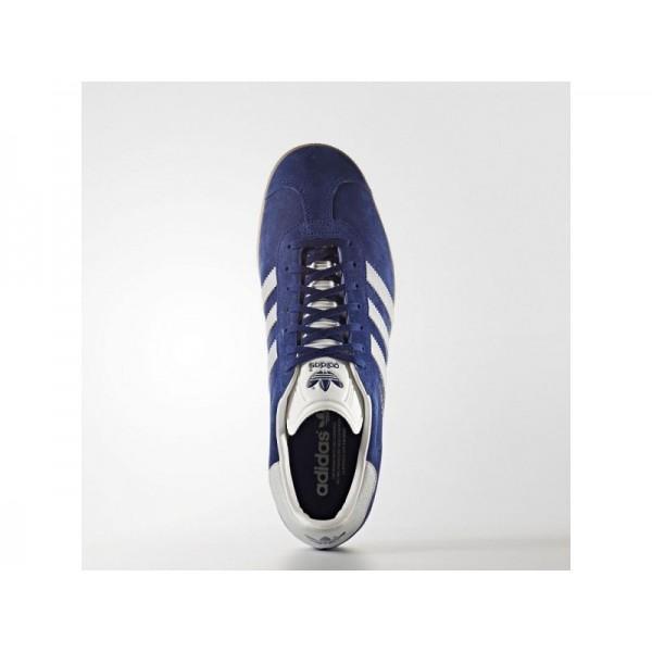 Adidas Herren Gazelle Originals Schuhe - Unity Ink F16/Metallic Silver-Sld/Gum4