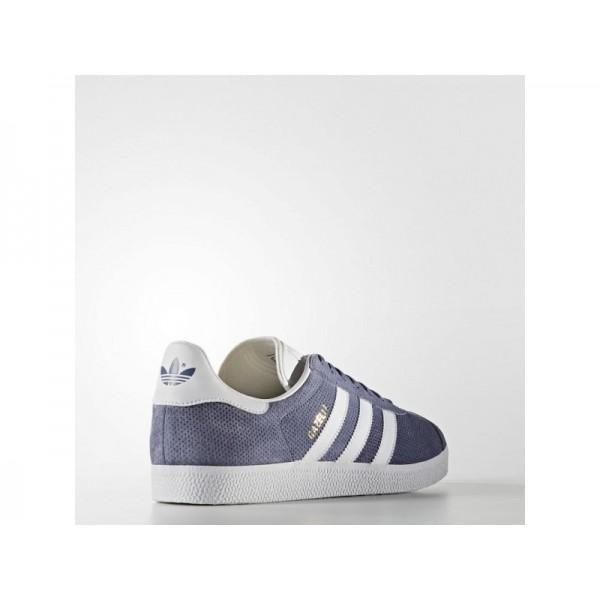 Adidas Herren Gazelle Originals Schuhe - Super Purple S16/White/Gold Met.