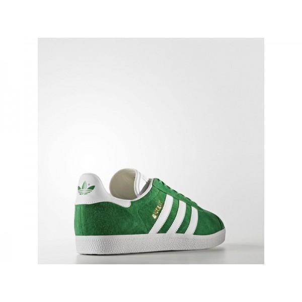 Adidas Herren Gazelle Originals Schuhe - Green/White/Gold Met. Adidas BB5477