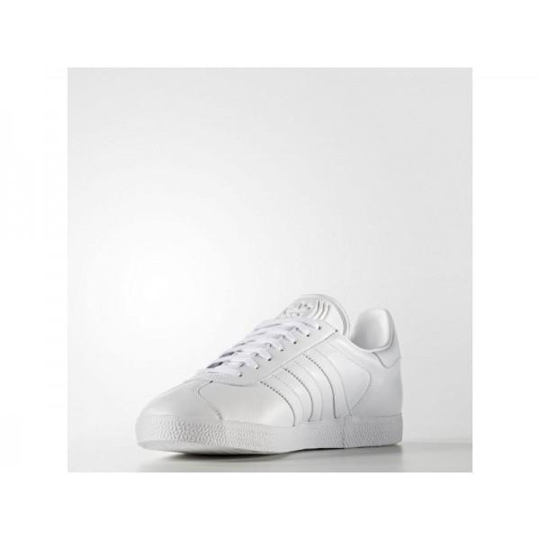 Adidas Herren Gazelle Originals Schuhe Online - Ftwr White/Ftwr White/Gold Met.