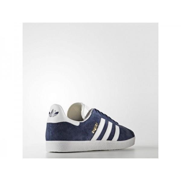 Adidas Herren Gazelle Originals Schuhe günstig - Collegiate Navy/White/Gold Met.