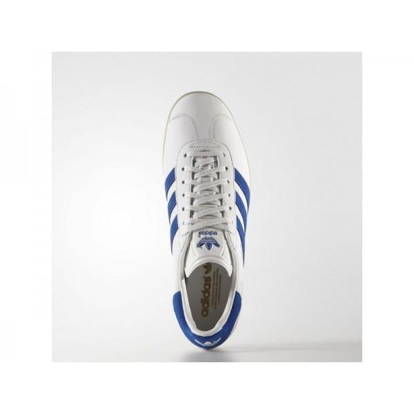 Adidas Herren Gazelle Originals Schuhe - Vintage White S15-St/Bold Blue/Gum4