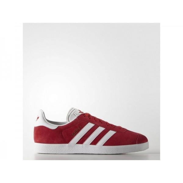 Adidas Herren Gazelle Originals Schuhe - Scarlet/Ftwr White/Gold Met.