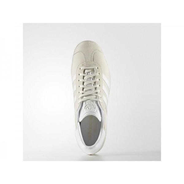 Adidas Herren Gazelle Originals Schuhe - Off White/White/Gold Met. Adidas BB5475