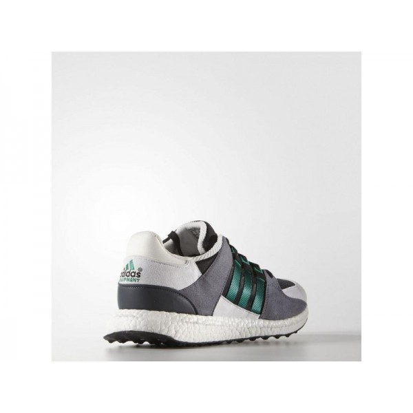 Adidas Herren EQT Originals Schuhe - Black/Sub Green/Vintage White