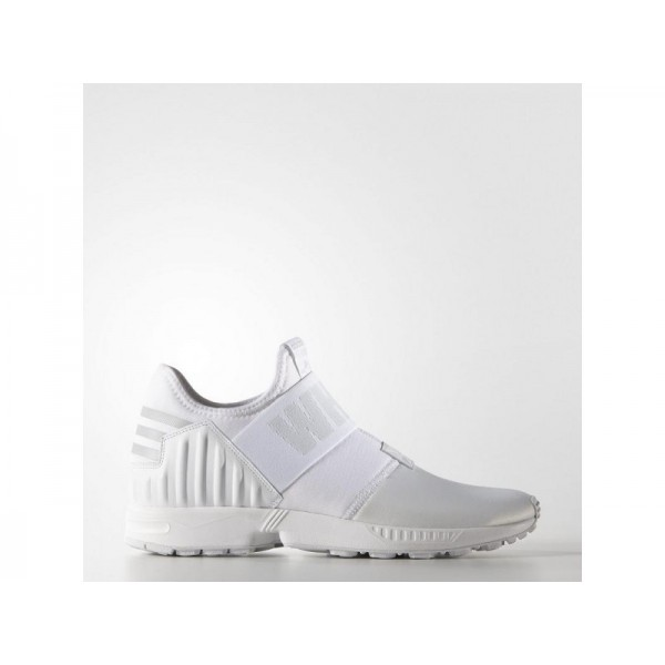 adidas Originals WHITE MOUNTAINEERING ZX FLUX PLUS Herren Schuhe - Weiß/Klar Grau/Light Onyx