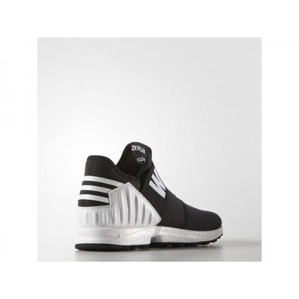 Originalsschuhe Adidas 'White Mountaineering ZX Flux Plus' Schwarz/Weiß Schuhe für Herren