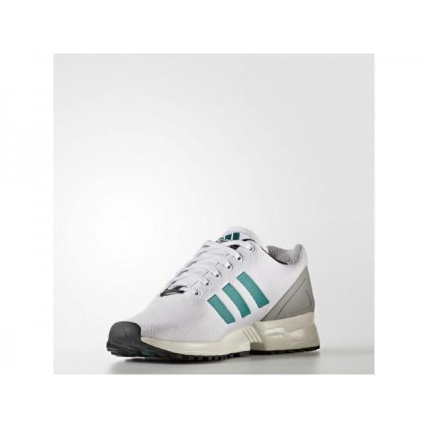 adidas Originals ZX FLUX EQT Herren Schuhe - Weiß/Sub Grün S13/Chalk White