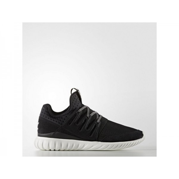 Originalsschuhe Adidas 'Tubular Radial Shoes' Schwarz/Altweiß S15-St/Schwarz Schuhe für Herren