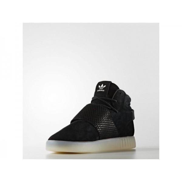 Originalsschuhe Adidas 'Tubular Invader Strap' Schwarz/Altweiß S15-St Schuhe für Herren