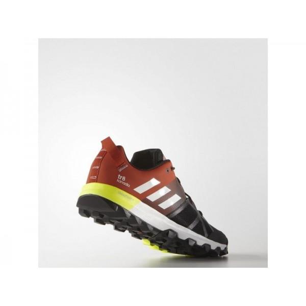 adidas Laufschuhe KANADIA 8 TRAIL Herren Schuhe - Kern Heather/Weiß/Craft Chili F16