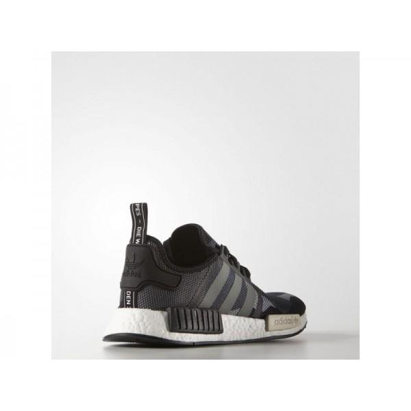 Originalsschuhe Adidas 'NMD R1' Schwarz/Weiß Kreide Schuhe für Herren