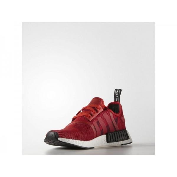 adidas Originals NMD R1 Herren Schuhe - Lush Rot/Lush Rot/Schwarz