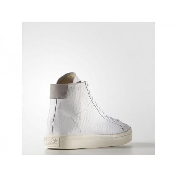 adidas Originals COURT VANTAGE MID Herren Schuhe - Weiß/Fest Grau