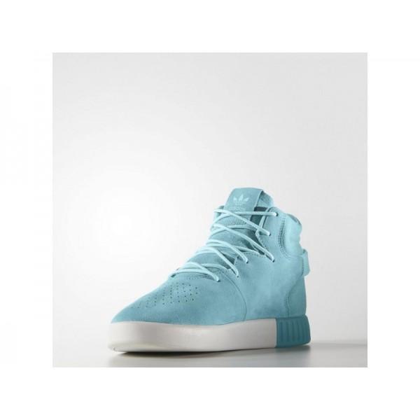 Originalsschuhe Adidas 'Tubular Invader' Klar Aqua/Aqua/Altweiß Schuhe für Herren