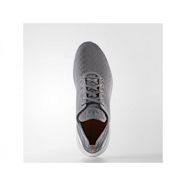 adidas Originals ZX FLUX ADV SUPER LITE SHOES Herren Schuhe - Grau/EQT orange S16/Weiß
